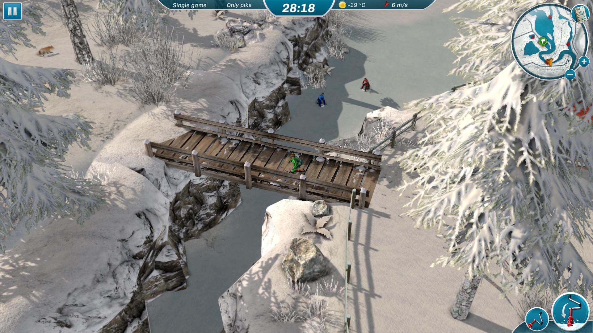 <b>《冰湖钓鱼》Steam上好评不断 冰面垂钓乐趣无穷</b>