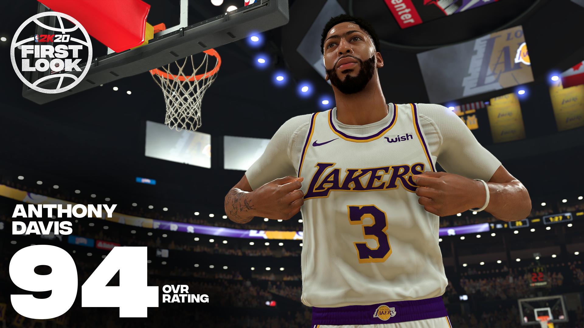 《NBA 2K20》明星球员评分公布!老詹连续10年评分最高 第10张