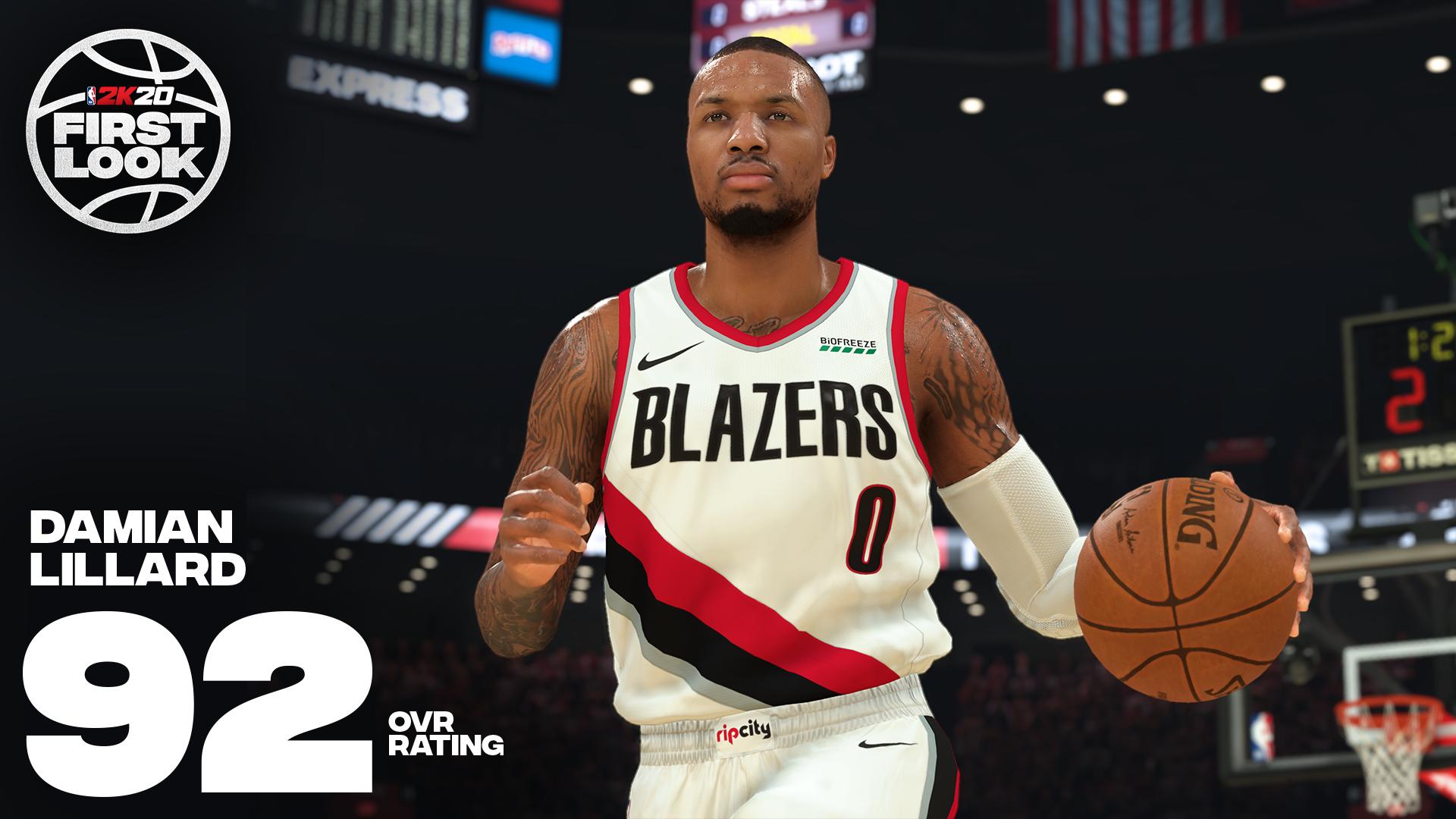 《NBA 2K20》明星球员评分公布!老詹连续10年评分最高 第12张
