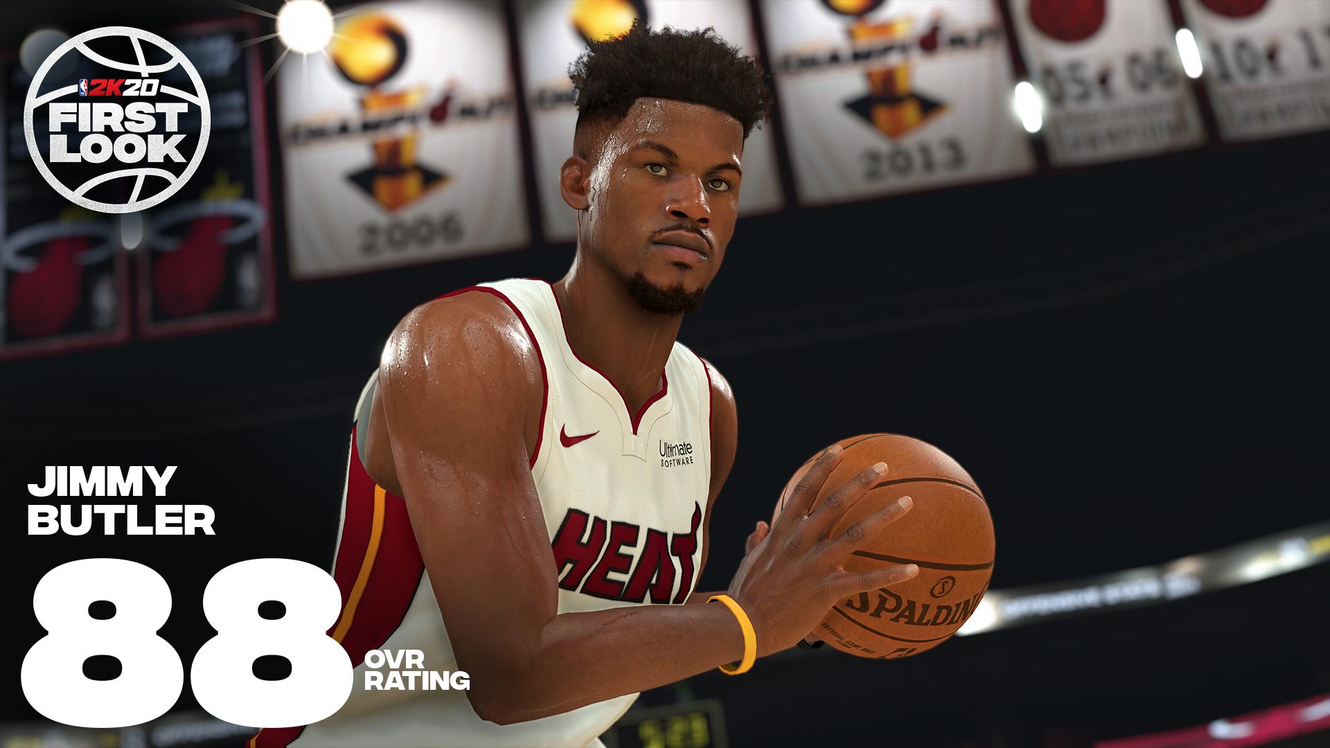 《NBA 2K20》明星球员评分公布!老詹连续10年评分最高 第17张