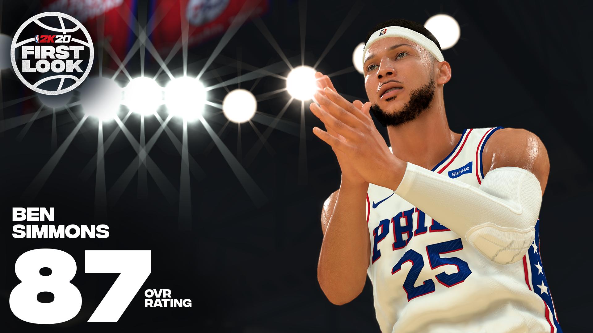 《NBA 2K20》明星球员评分公布!老詹连续10年评分最高 第21张