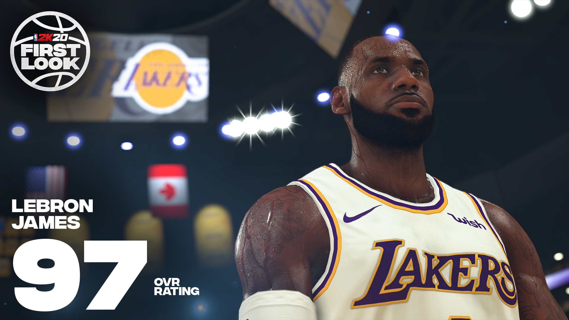 《NBA 2K20》明星球员评分公布!老詹连续10年评分最高