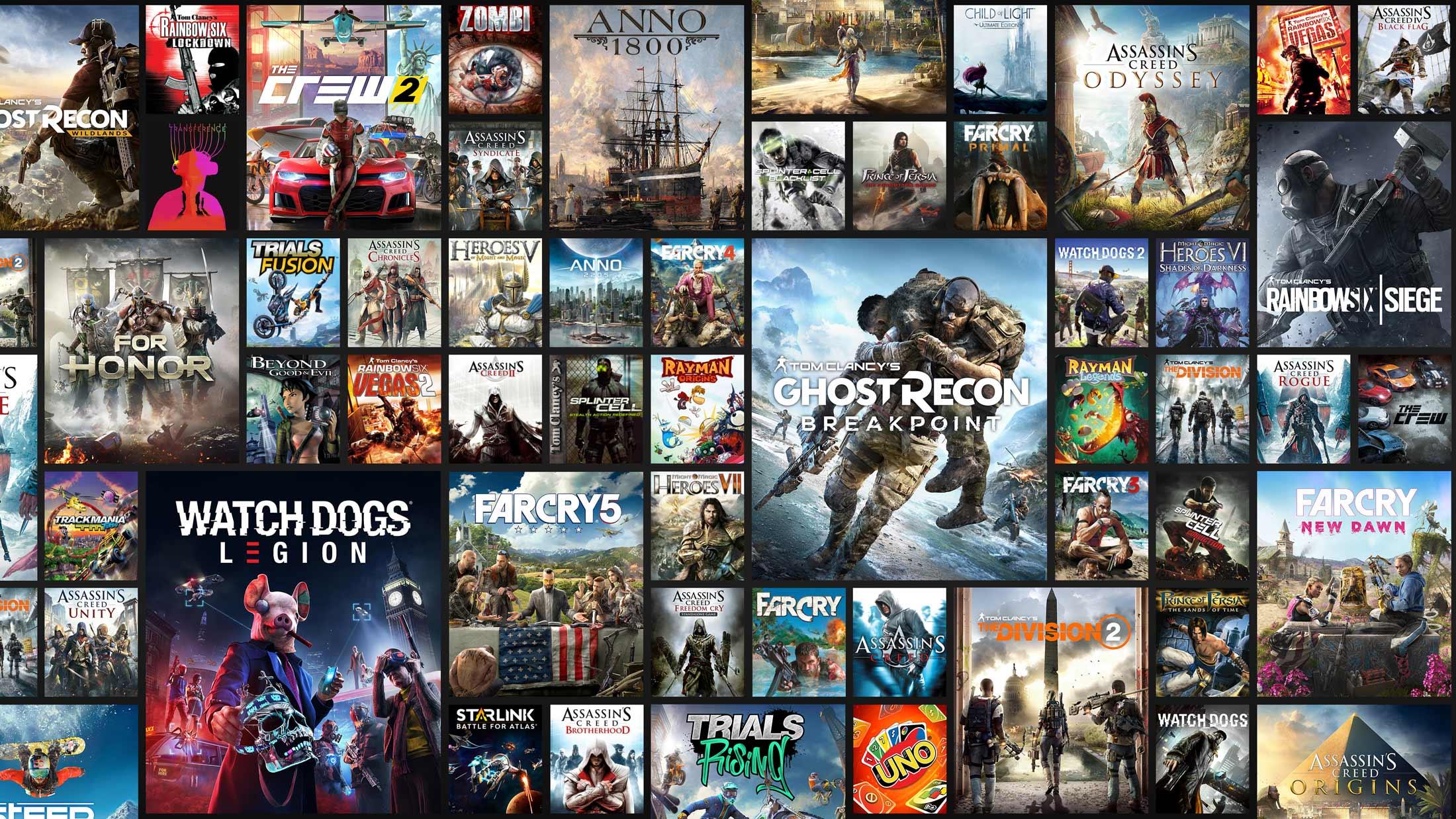 育碧Uplay+确定9月上线 首月超百款经典游戏大作免费玩
