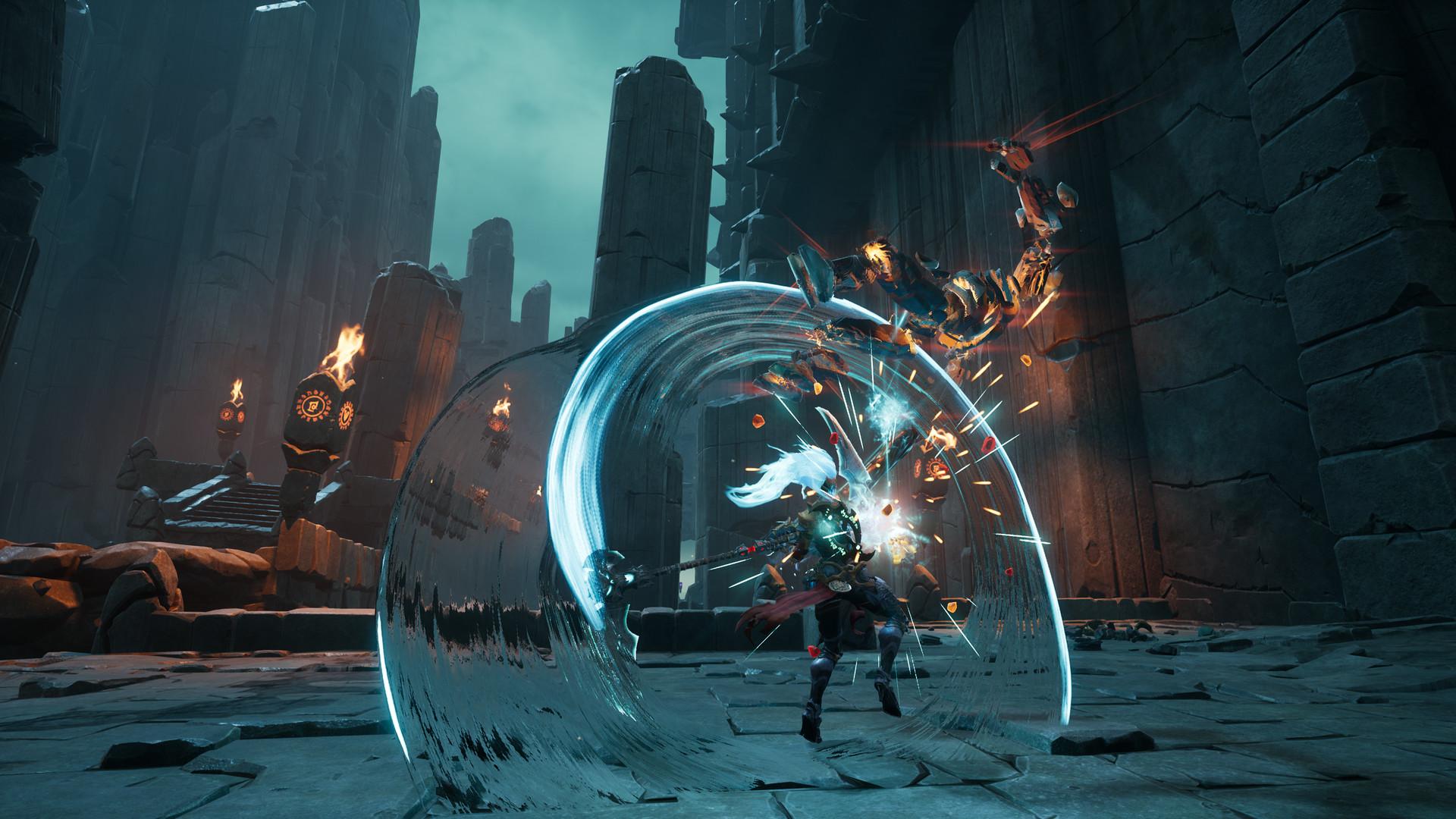 """《暗黑血统3》DLC""""虚空守护者""""发售 女神大开杀戒"""