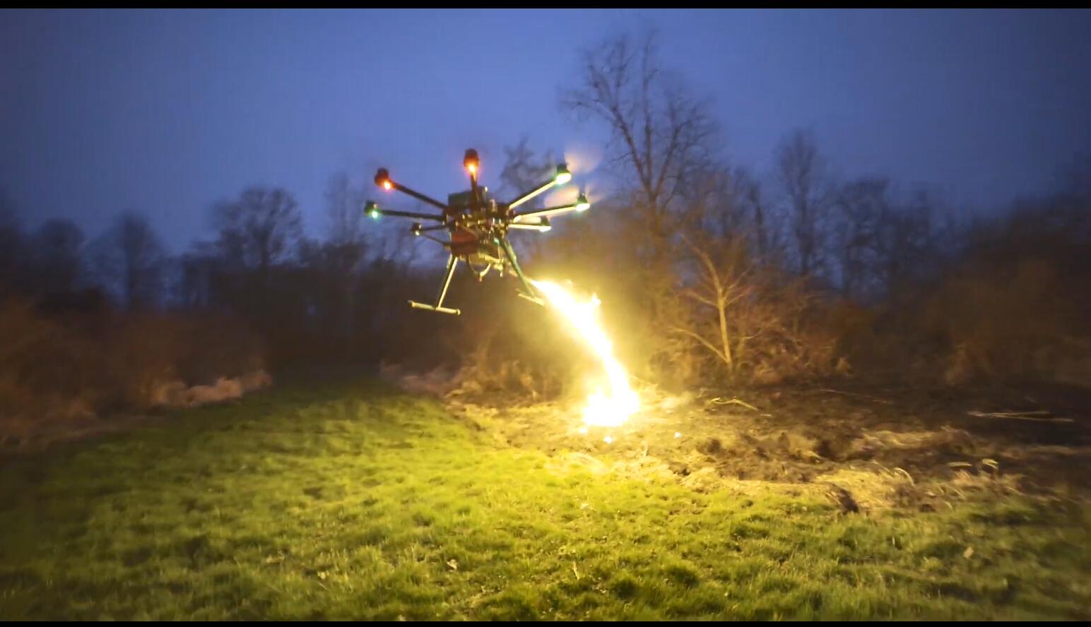 货真价实!火焰喷射器组件即将上架开卖 能喷100秒