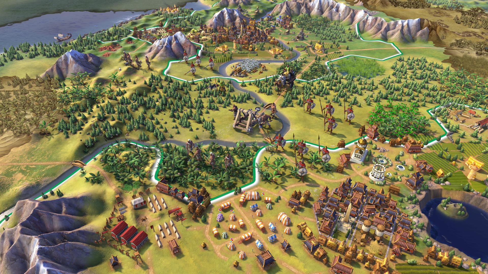 Steam特价促销 回合制策略游戏《文明6》仅售59元