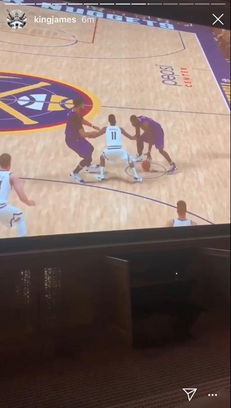 我玩我自己 勒布朗詹姆斯分享《NBA 2K20》试玩片段