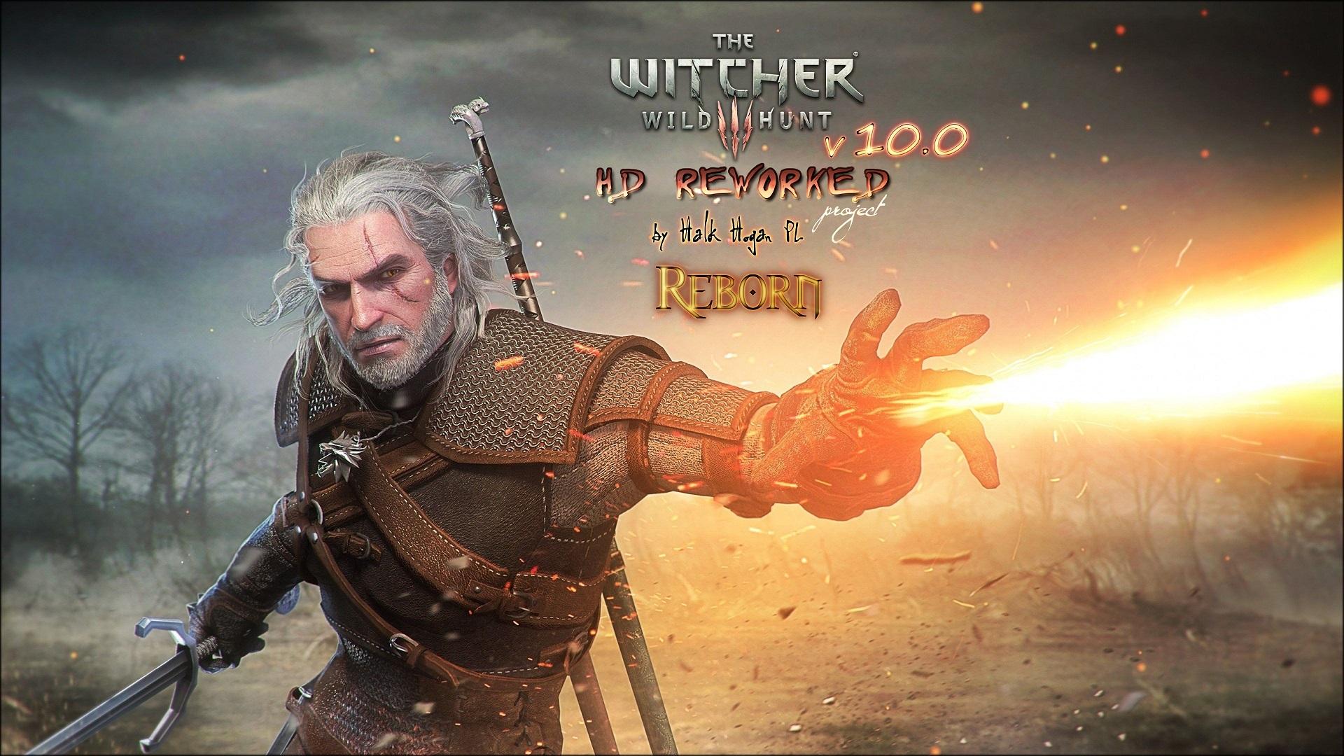 《巫师3》高清Mod V10演示视频 画质提升游戏更美了