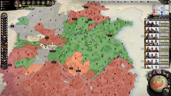 《全面战争:三国》诸侯地图位置分析——地理篇