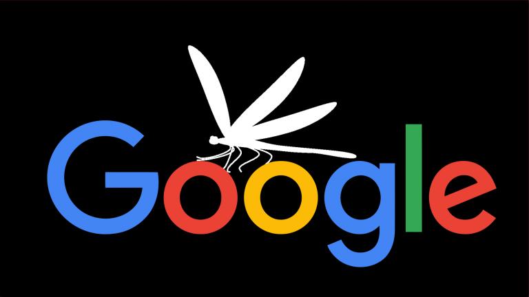 """正式放弃重返中国 谷歌叫停定制搜索引擎""""蜻蜓计划"""""""