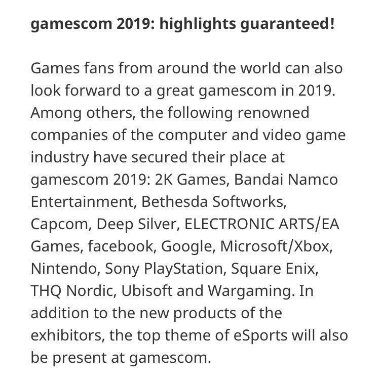 索尼确认将参加科隆游戏展和东京电玩展