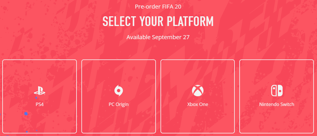 《FIFA 20》官方正式預告片公布 9月28日全球發售