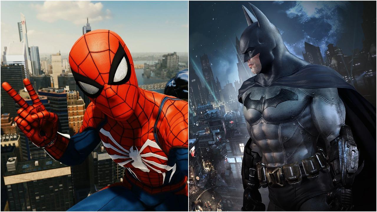 《漫威蜘蛛侠》 超 《阿卡姆城》 成美国最畅销超级英雄游戏