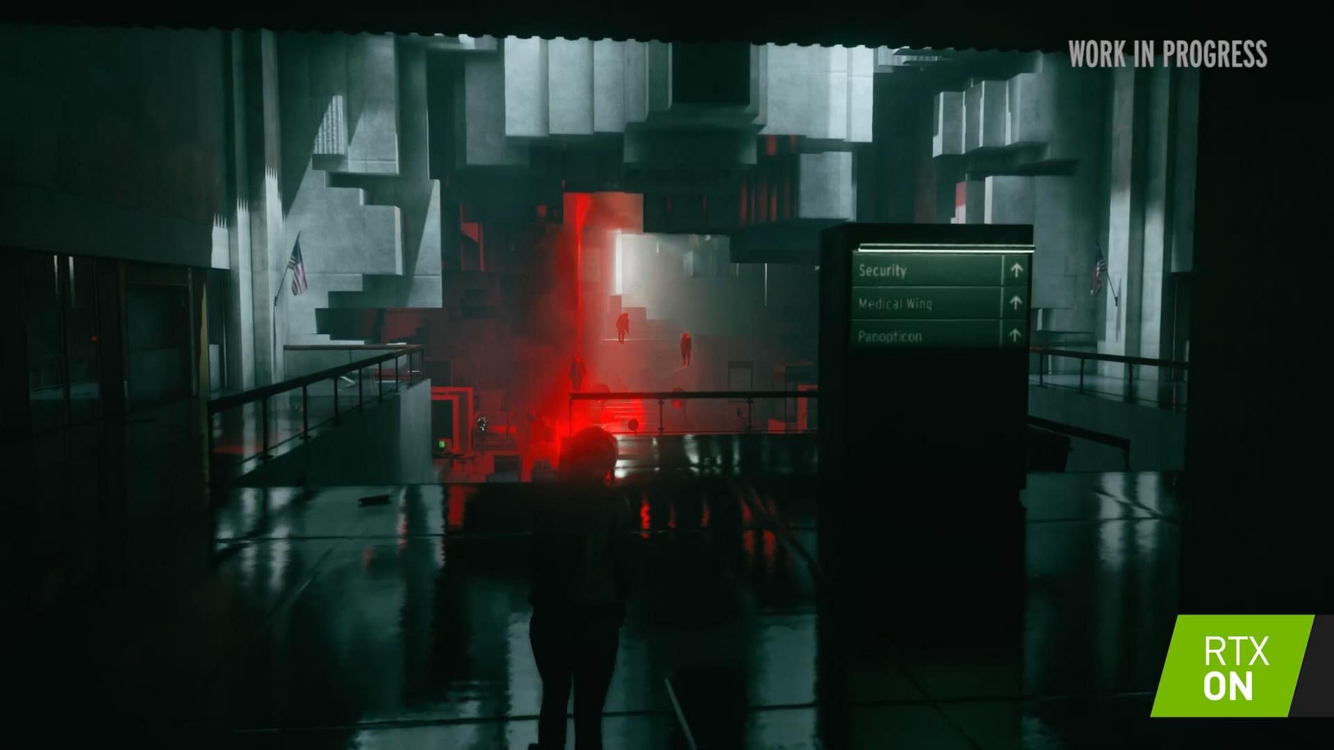 Remedy《控制》 官方RTX预告 实时光线追踪效果展示