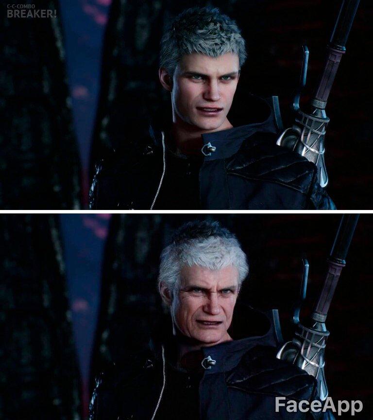 著名游戏角色老了会变成啥样?但丁白狼弩哥越老越有味