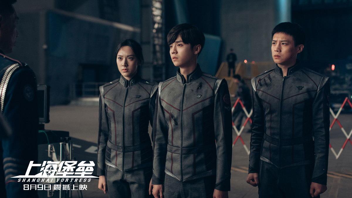 《上海堡垒》片尾曲MV曝光 鹿晗迎战外星人舒淇流泪