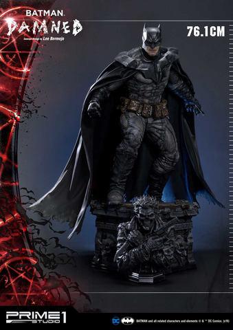 龇牙咧嘴显狰狞 Prime1Studio推出特殊蝙蝠侠手办 第5张