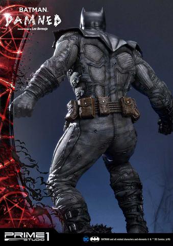 龇牙咧嘴显狰狞 Prime1Studio推出特殊蝙蝠侠手办 第7张