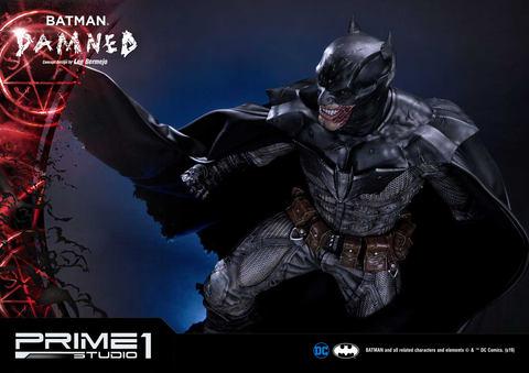 龇牙咧嘴显狰狞 Prime1Studio推出特殊蝙蝠侠手办 第1张