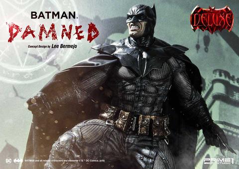 龇牙咧嘴显狰狞 Prime1Studio推出特殊蝙蝠侠手办 第3张