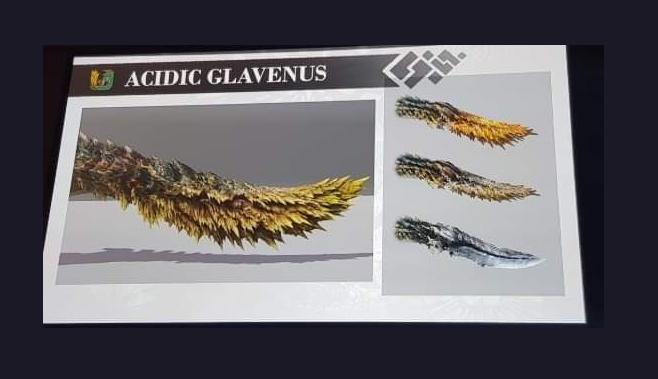 酸液攻击尾似刀 《怪物猎人世界:冰原》新龙种公布