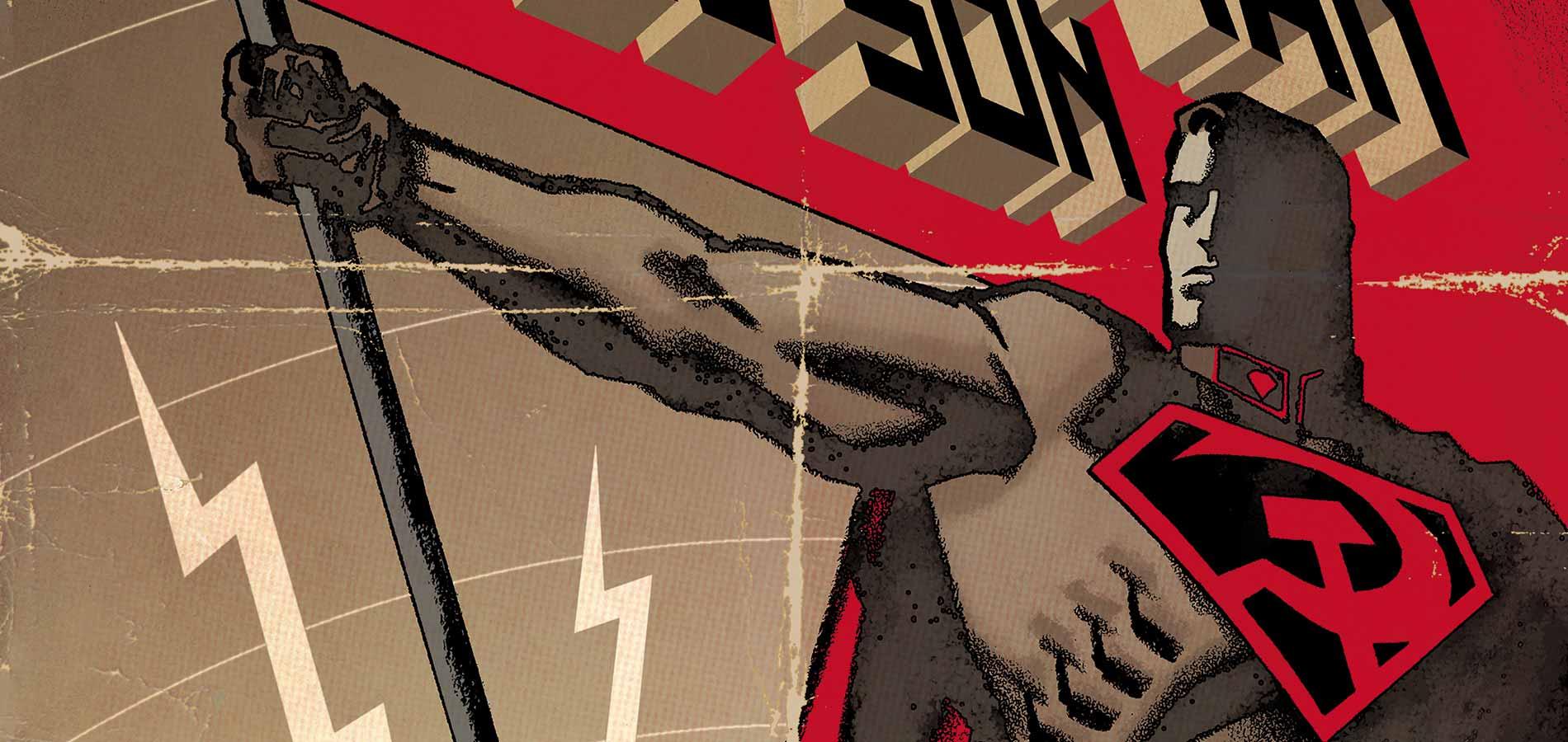 为苏联代言 DC宣布《超人:红色之子》动画电影化