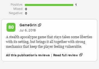 《贝辛斯托克》 Steam特别好评 最好的Roguelike潜行之一