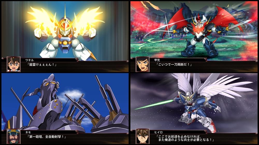 《超级机器人大战V、X》将推出NS及PC版 更多信息25日公布