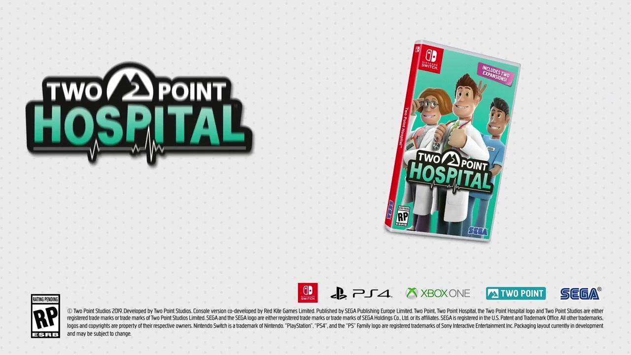 世嘉《双点医院》将于年内登陆XB1/PS4/Switch平台