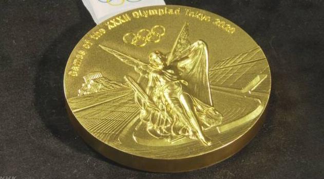 正面为胜利女神尼姬!东京2020奥运会公布奖牌样式