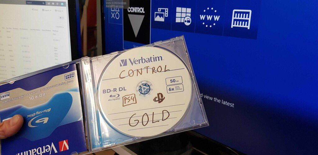 《控制》已经完成制作 导演欣喜晒出进厂压盘照片