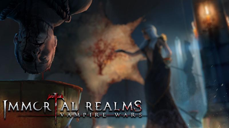 回合制策略游戏《永生之境:吸血鬼战争》公布