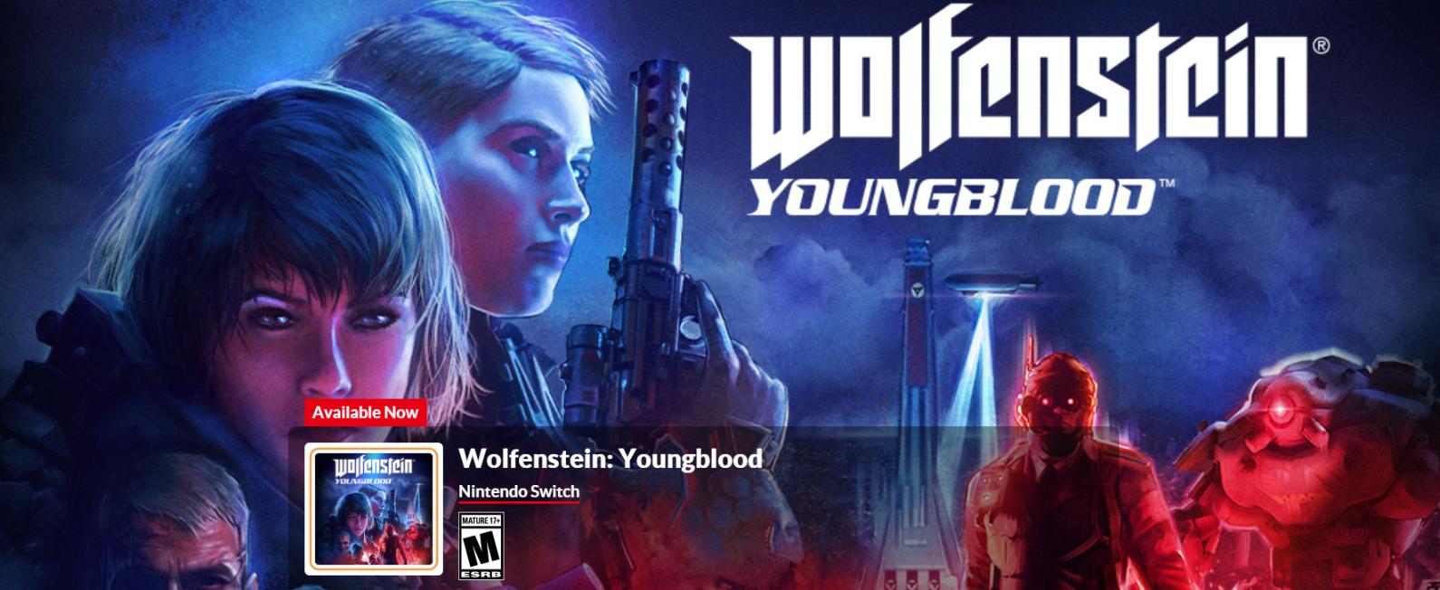 《德军总部:新血液》Switch体验版上架 竟然有22.6G?