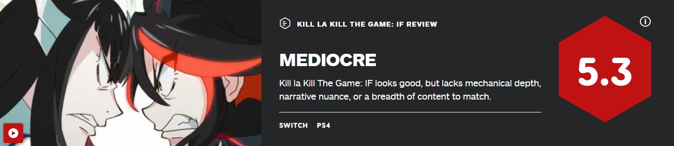 画面不错但内容平庸 《斩服少女:异布》IGN5.3分