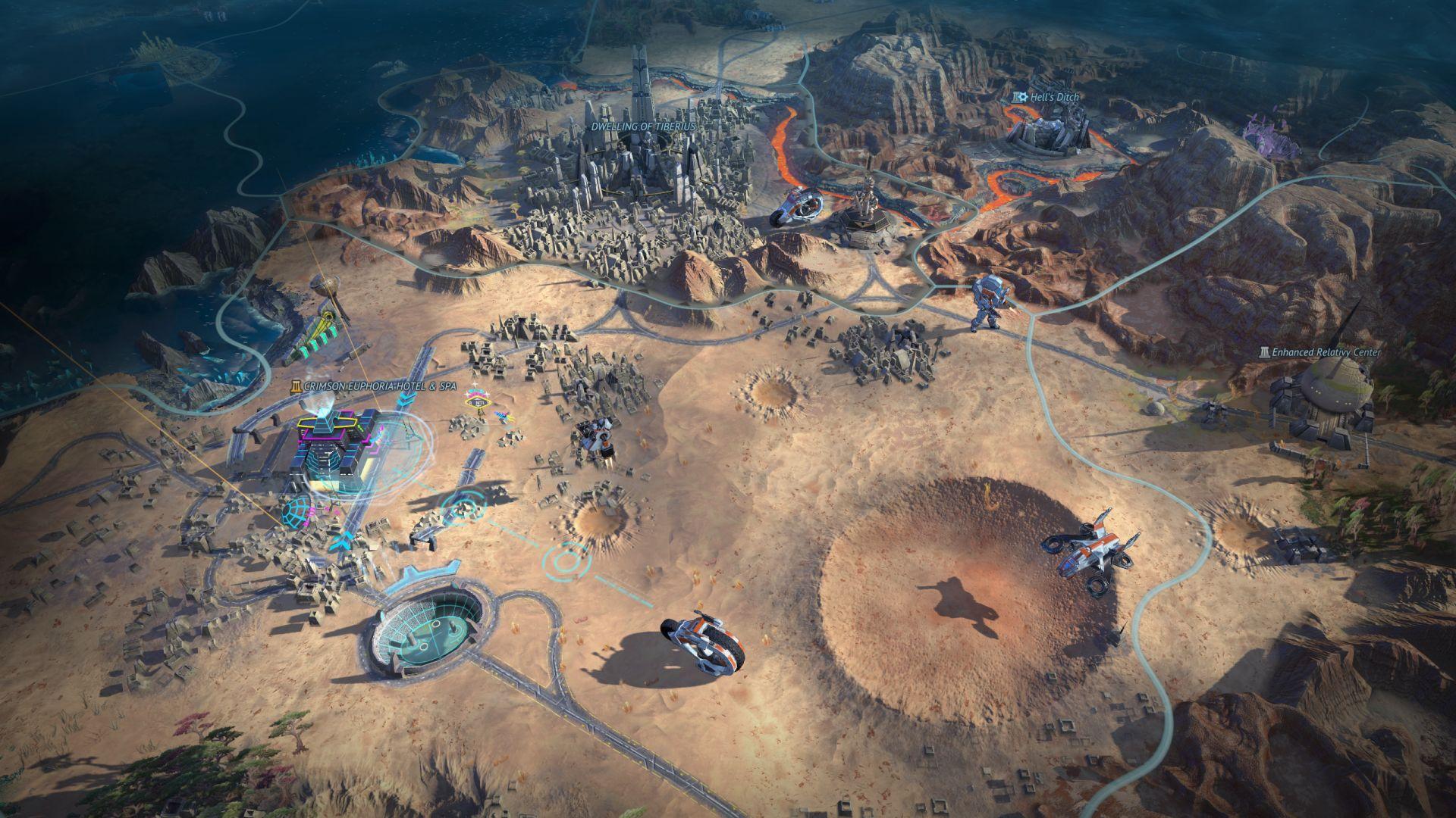 科幻策略新作《奇迹时代:星陨》新截图 画面出色!