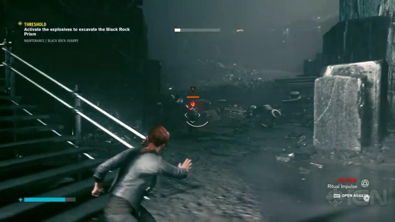 《控制》新8分钟剧情任务演示 可以用意念控制敌人