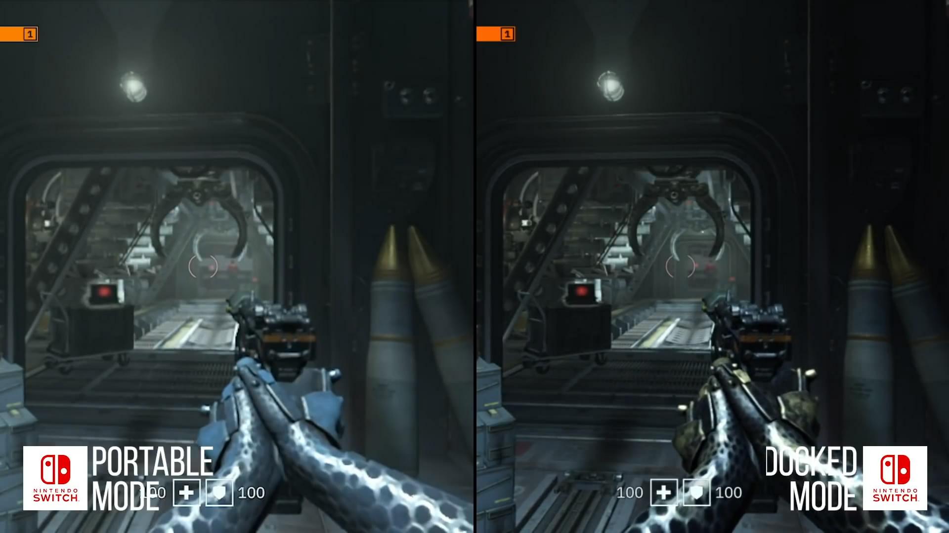 《德军总部:新血液》NS版与X1X版对比视频 期盼改进