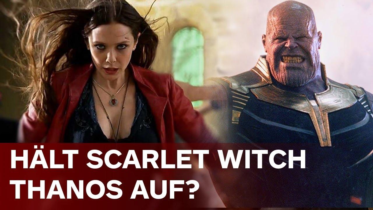 漫威:《复联4》中 红女巫单挑能打败灭霸