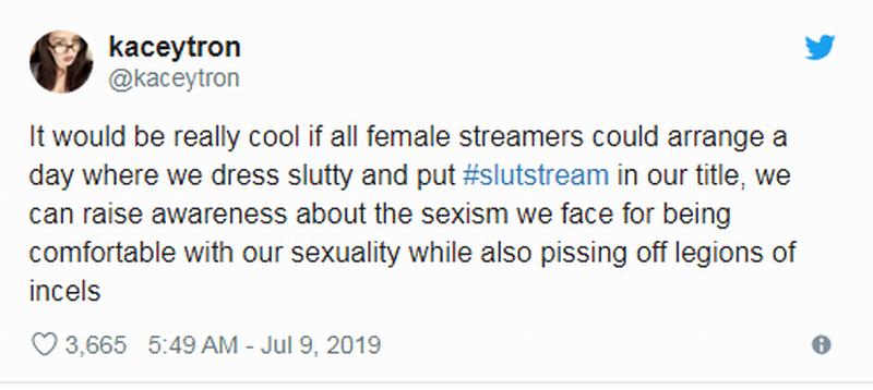 性感女主播发起穿着清凉的反骚扰活动 引起网友热议