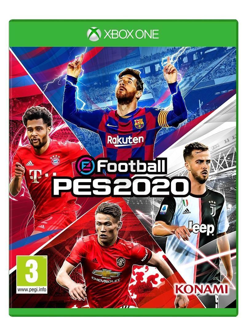 《實況足球2020》封面四星同臺 梅球王雙手指天引雷電
