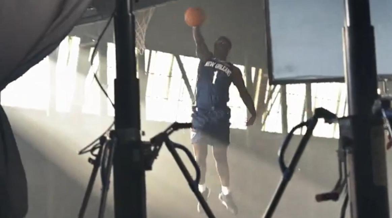 掌控下一程 《NBA 2K20》与NBA状元秀锡安威廉姆斯达成合作