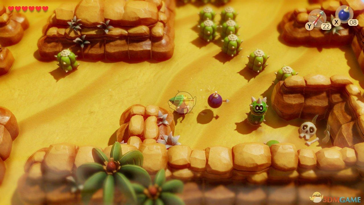 《塞尔达传说:织梦岛》炸弹箭作用一览