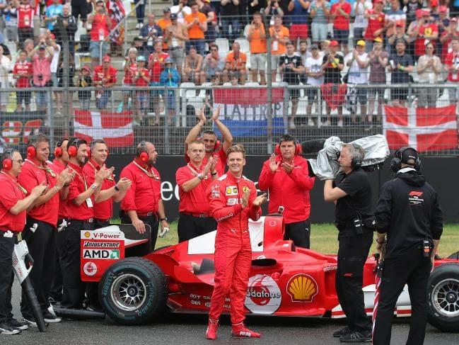 好消息!舒马赫已能在家观看F1转播但与人沟通依旧困难