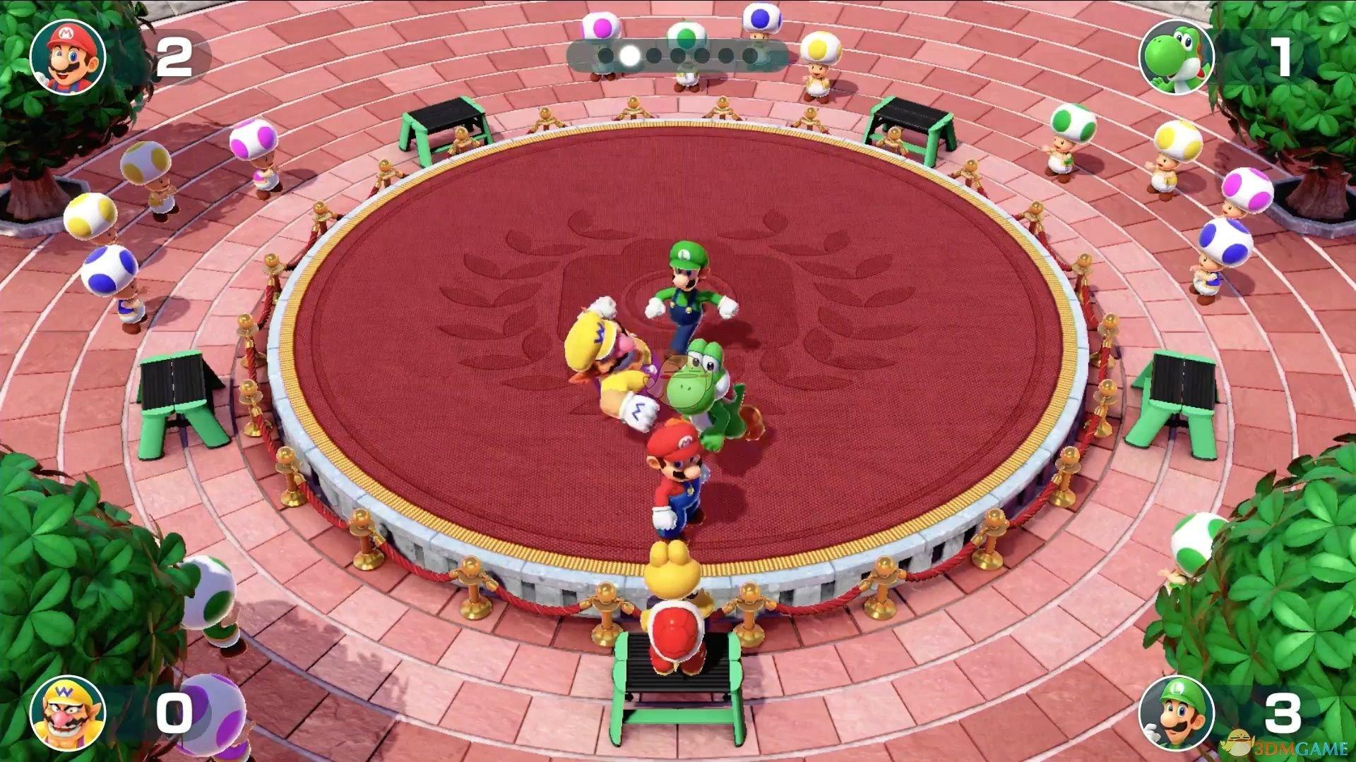 《超级马里奥派对》嘿虎骰子摇点分析