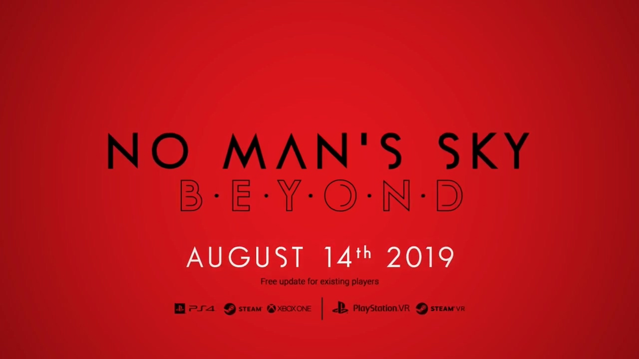 """《无人深空》大型更新""""Beyond""""将于8月14日上线"""
