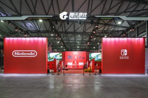 """Nintendo Switch?展区腾讯携任天堂邀你""""奇乐同享""""""""任""""式好游戏!"""