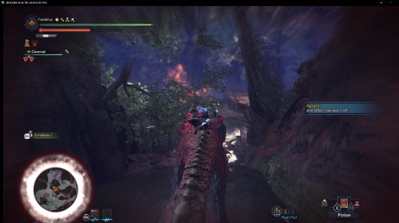 龙骑士皇牌空战!《怪物猎人世界》新增骑乘作战Mod
