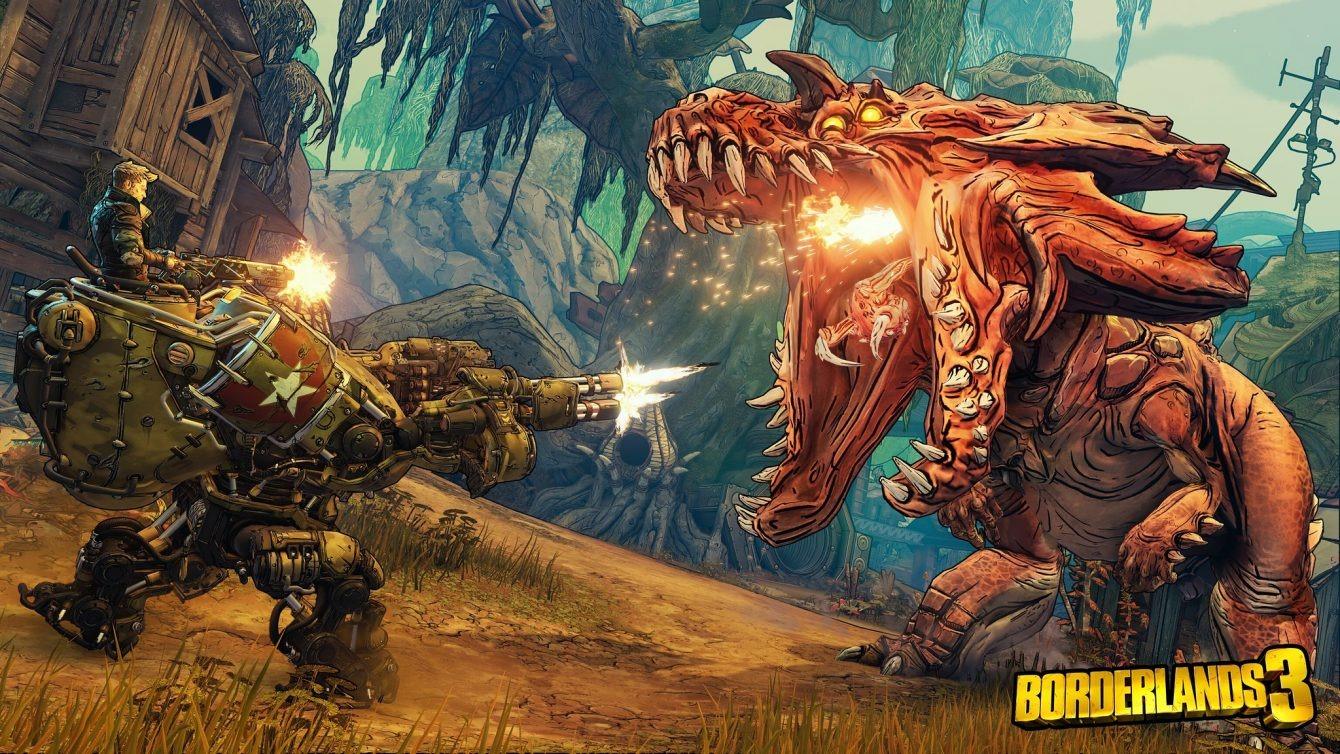 《无主之地3》将在PS4 Pro上支持两种图形模式