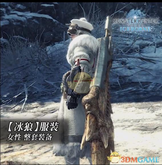 《怪物猎人:世界》冰原dlc大师等级防具-冰狼女装视频分享