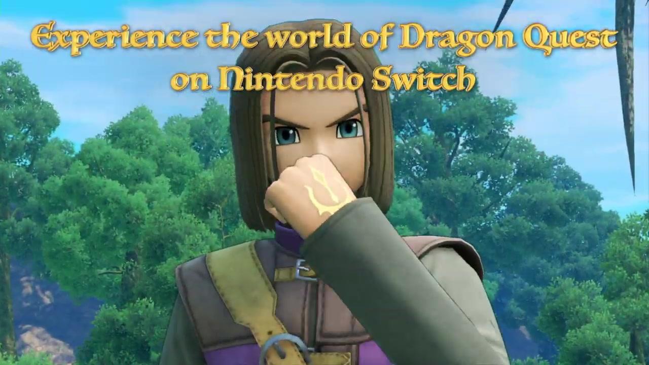 《勇者斗恶龙11S》Switch新预告片展示绚丽世界